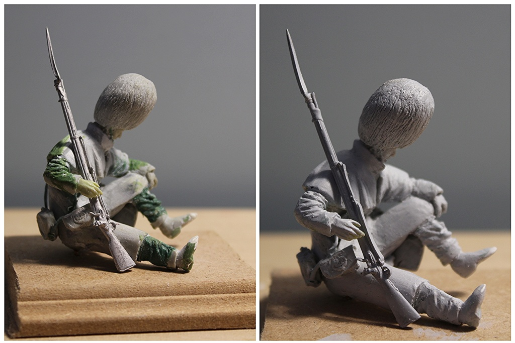 """Inkerman 1854 : 1er grenadier guards""  version 1 à version 3 Blessz11"