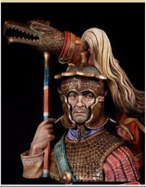 Draconarius du bas empire romain - buste Alexandros Box_ar10