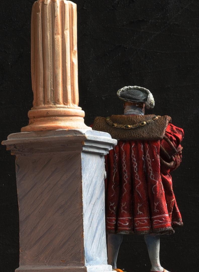 Henri VIII Andrea 54 mn retraillé Dos210