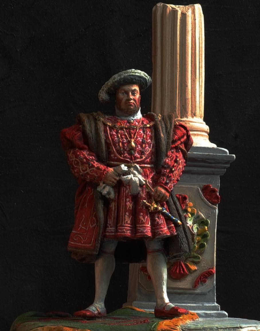 Henri VIII Andrea 54 mn retraillé Face210