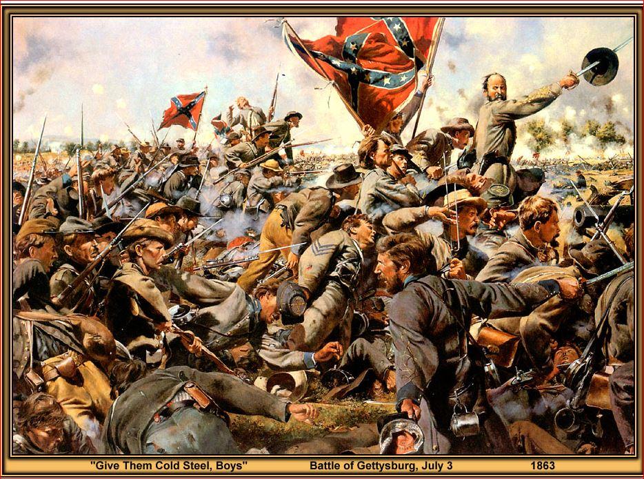 Pickett's shame 1863 Gettys10