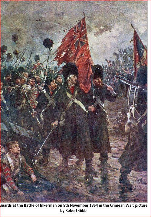 """""""Inkerman 1854 : 1er grenadier guards""""  version 1 à version 3 Porte_12"""