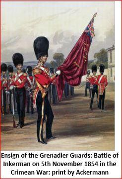"""""""Inkerman 1854 : 1er grenadier guards""""  version 1 à version 3 Porte_13"""