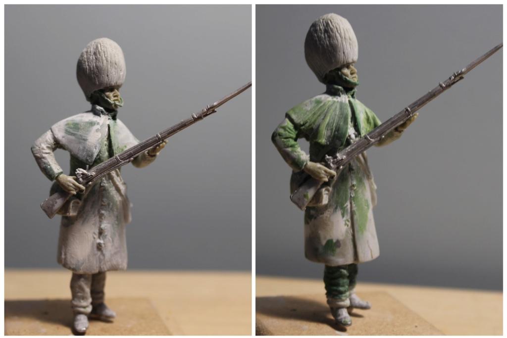 """""""Inkerman 1854 : 1er grenadier guards""""  version 1 à version 3 Soldat14"""