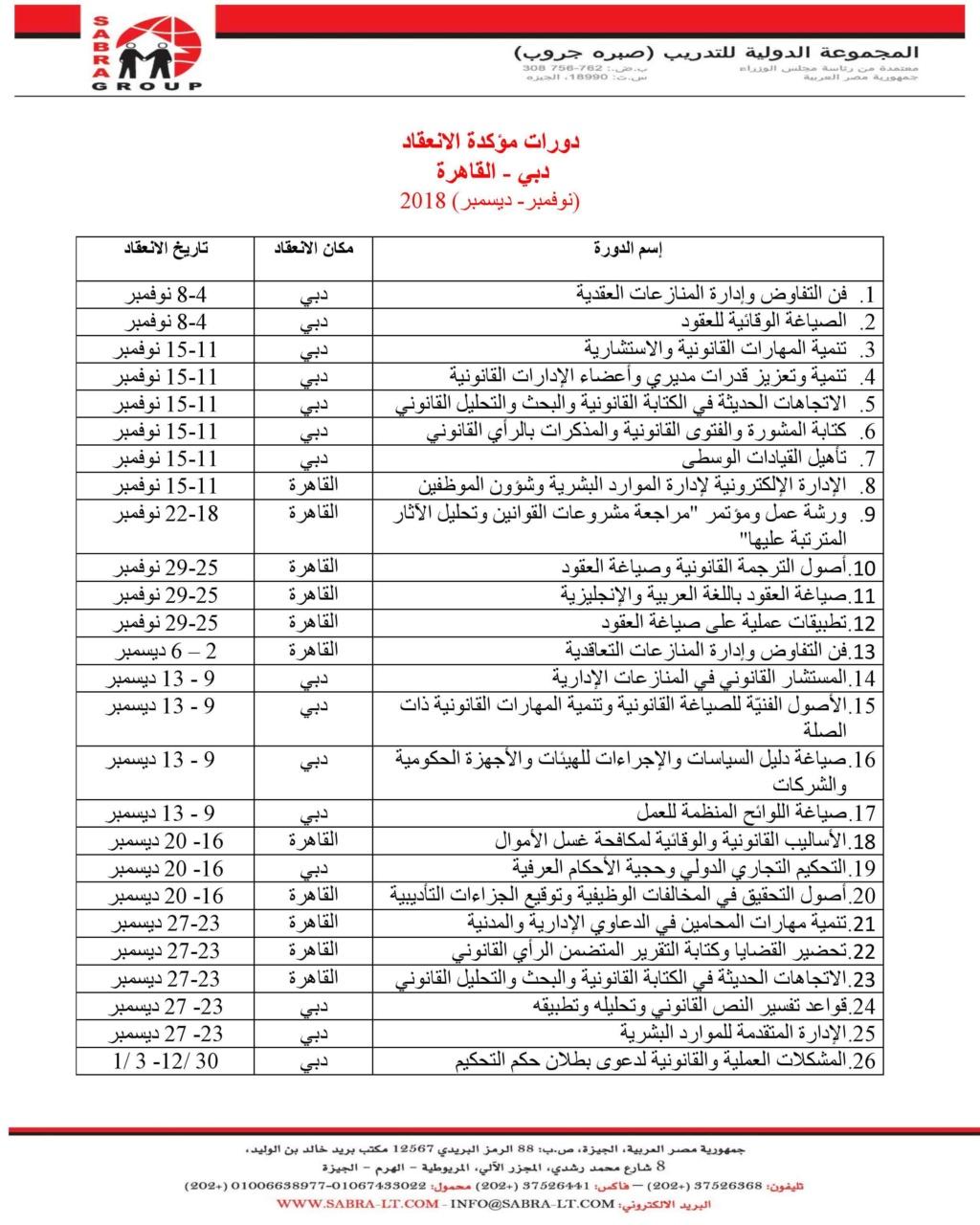 دورات مؤكدة الانعقاد في القاهرة ودبي Cairo-13