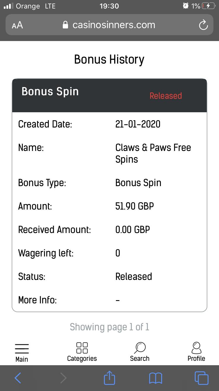 Casino Sinners 50 darmowych obrotów bez depozytu 502aba10