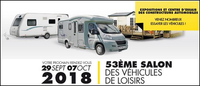 Salon du véhicule de loisirs 2018 Collag10