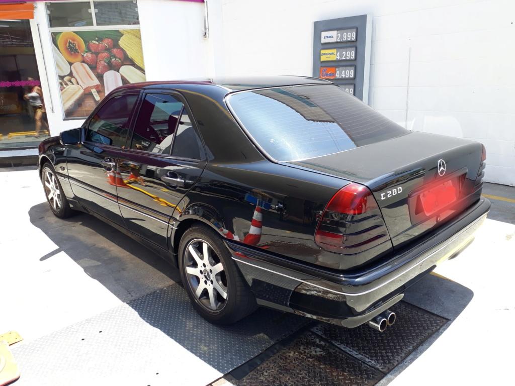 Vendo C280 V6 Elegance - Fase2 ano 1998 - R$ 28.500,00 20200114