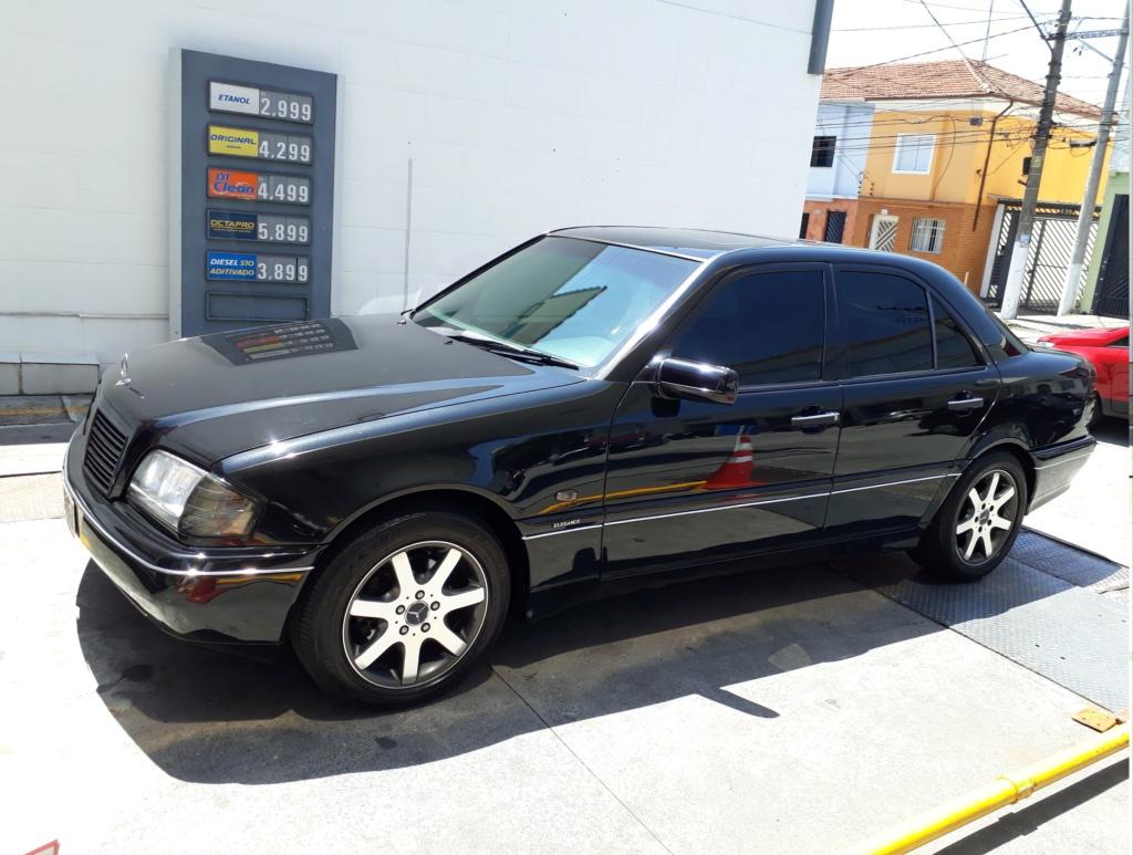 Vendo C280 V6 Elegance - Fase2 ano 1998 - R$ 28.500,00 20200115