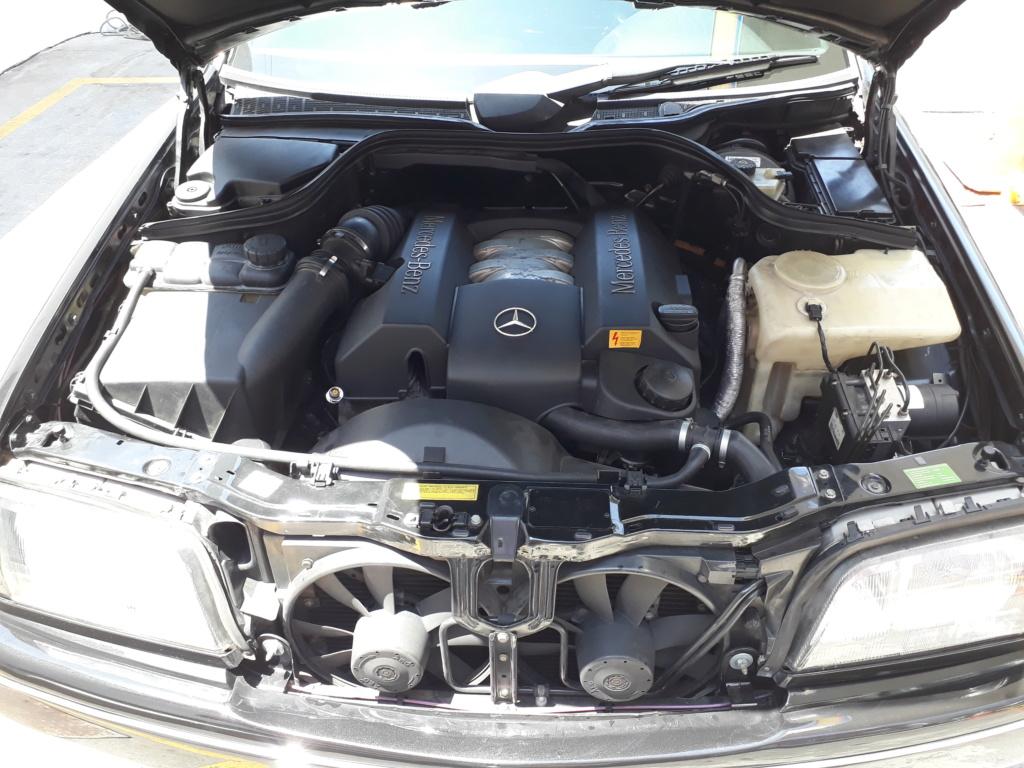 Vendo C280 V6 Exclusive - Fase2 ano 1998 - R$ 28.500,00 20200116