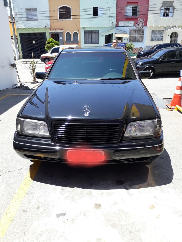 Vendo C280 V6 Elegance - Fase2 ano 1998 - R$ 28.500,00 20200118