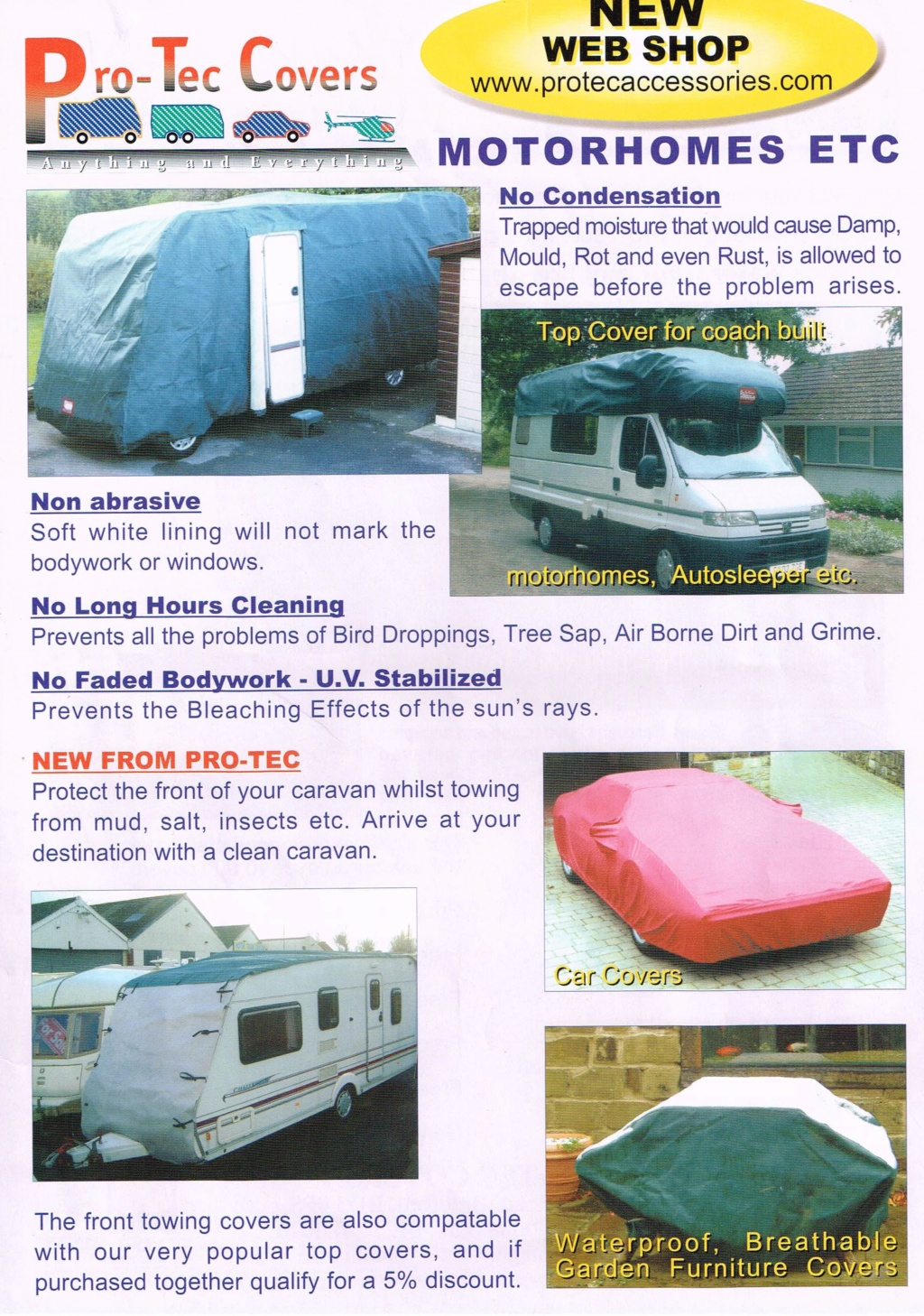 Pro-Tec Motorhome Cover Fits A/S   SOLD Bps10010