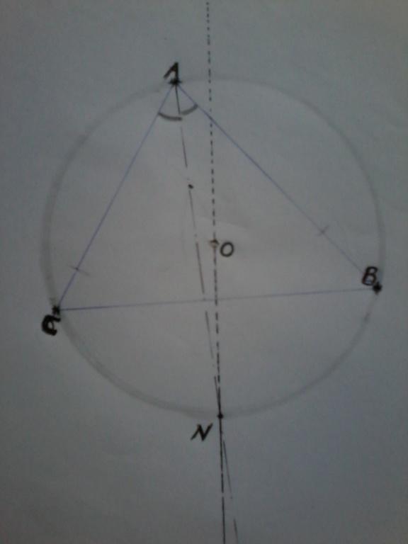 [Angles du cercle circonscrit] الدائرة الخارجية لمثلث 15443510