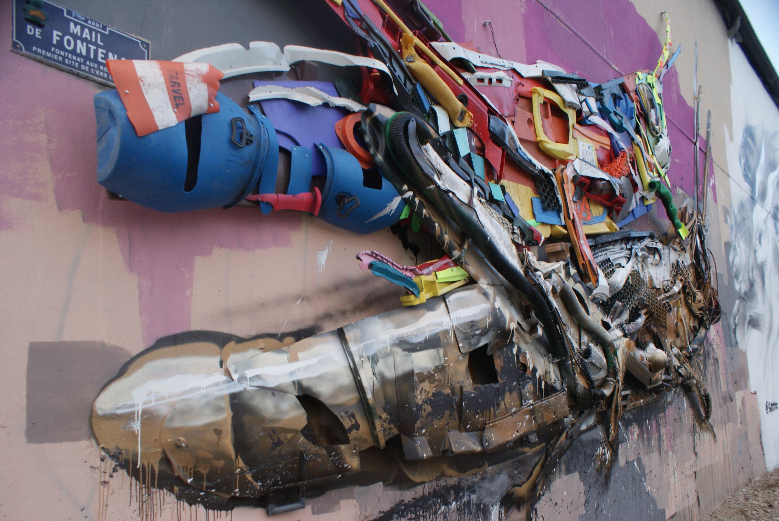 [street art-rue et manifs] Peinture fraîche, à Lyon 2019 et 2020 A1032