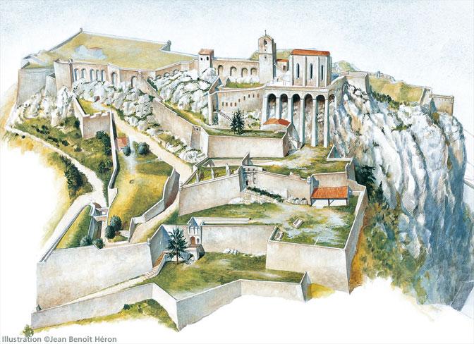 La citadelle de Sisteron:  visite virtuelle d'hier et d'aujourd'hui.  - Page 2 A125110