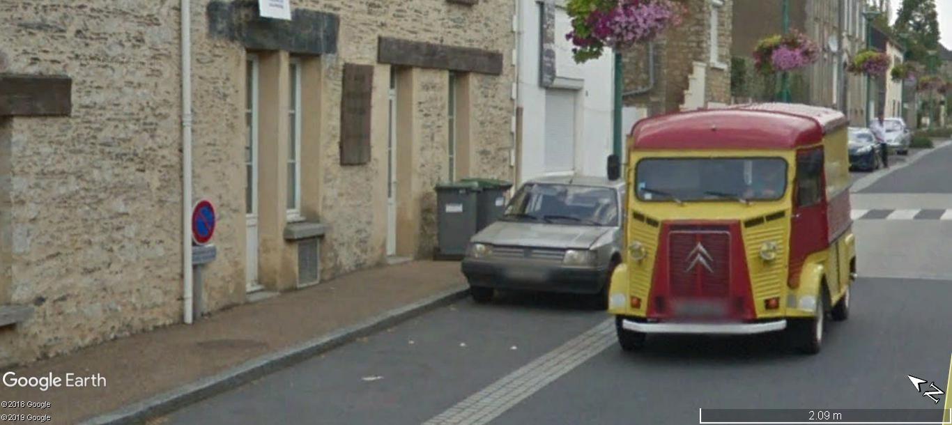 STREET VIEW: RETRO - le Citroen HY, le TUB d'après guerre. A1269