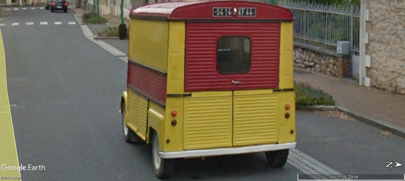 STREET VIEW: RETRO - le Citroen HY, le TUB d'après guerre. A1271