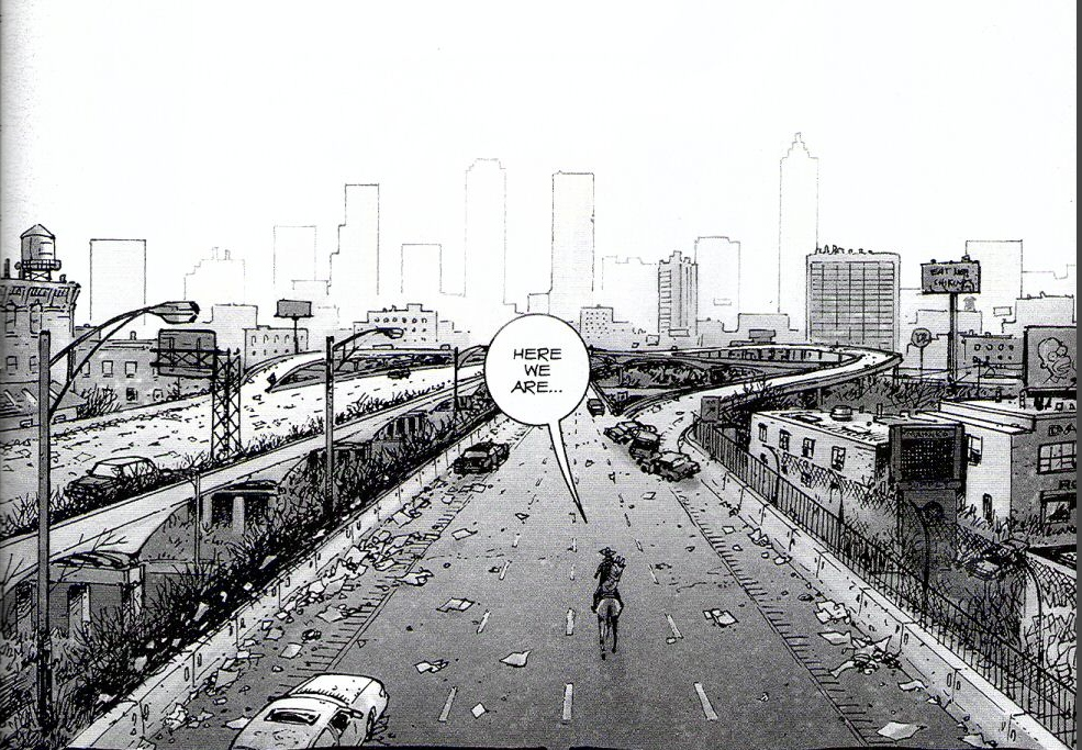The Walking dead, storybording with Google Earth and Street View A1727