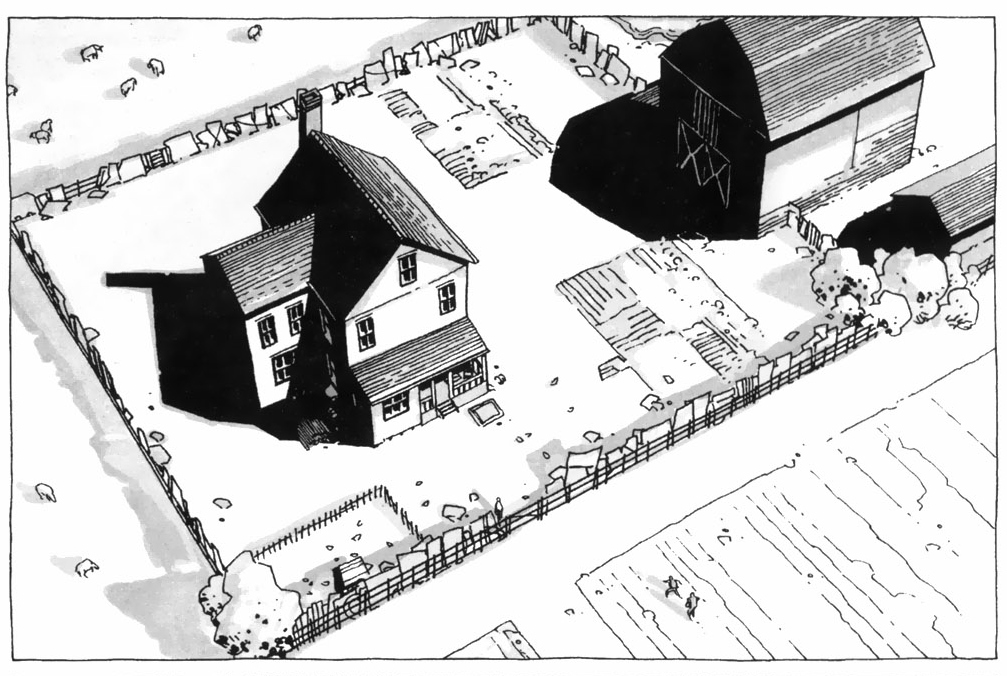 The Walking dead, storybording with Google Earth and Street View A1730