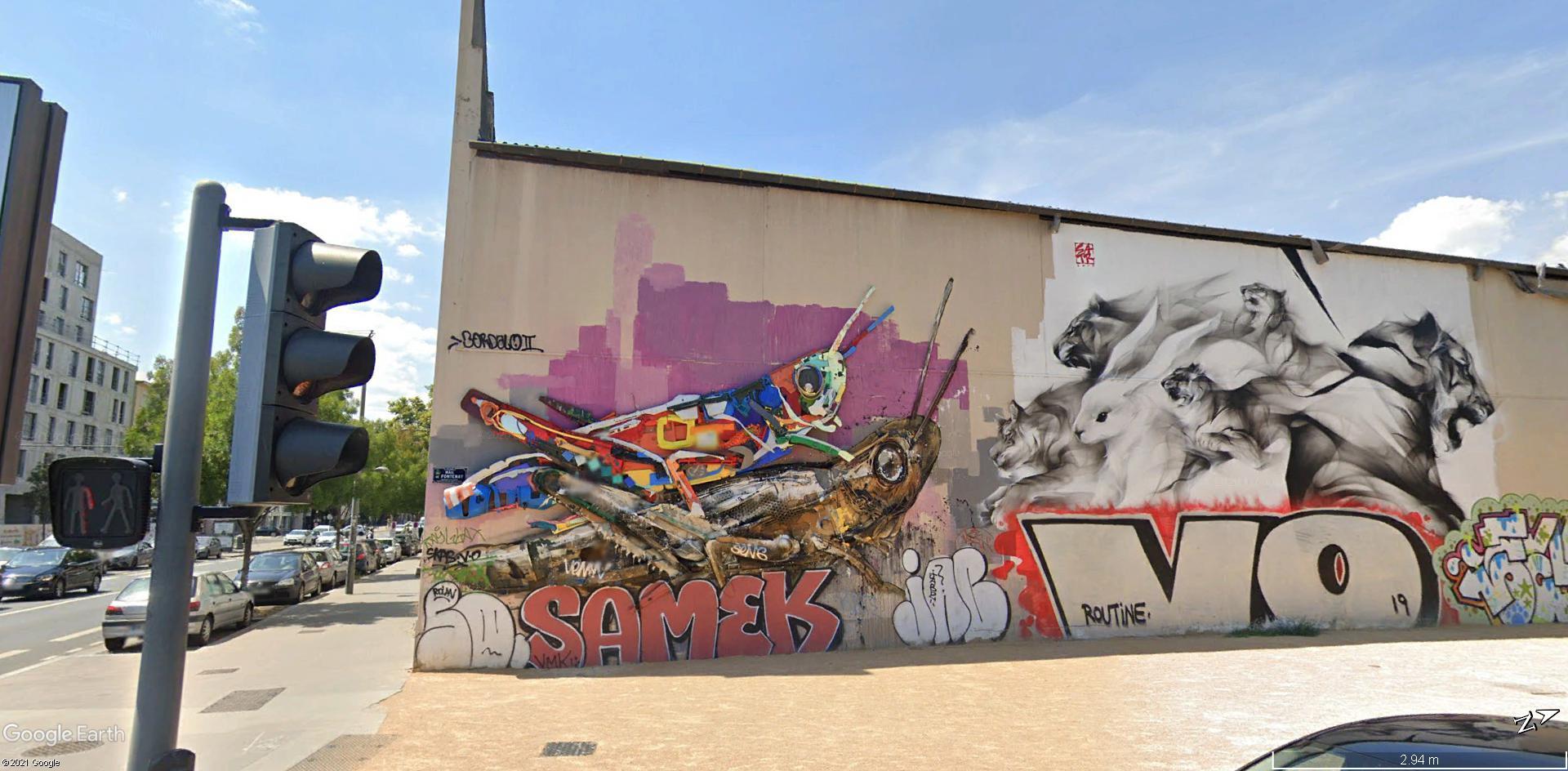 [street art-rue et manifs] Peinture fraîche, à Lyon 2019, 2020 ET 2021 A2339