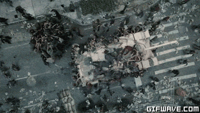 The Walking dead, storybording with Google Earth and Street View Bande10