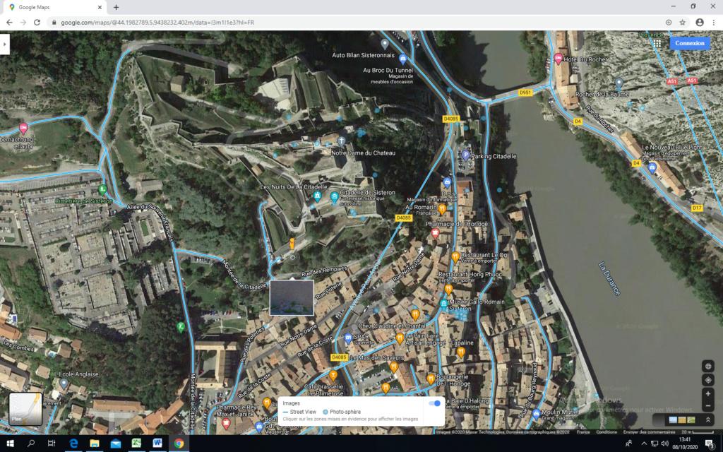 La citadelle de Sisteron:  visite virtuelle d'hier et d'aujourd'hui.  - Page 2 Captu438