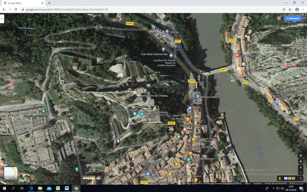 La citadelle de Sisteron:  visite virtuelle d'hier et d'aujourd'hui.  - Page 2 Captu439