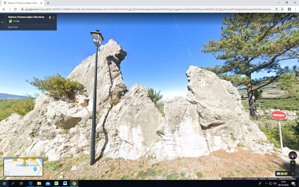 La citadelle de Sisteron:  visite virtuelle d'hier et d'aujourd'hui.  - Page 2 Captu443