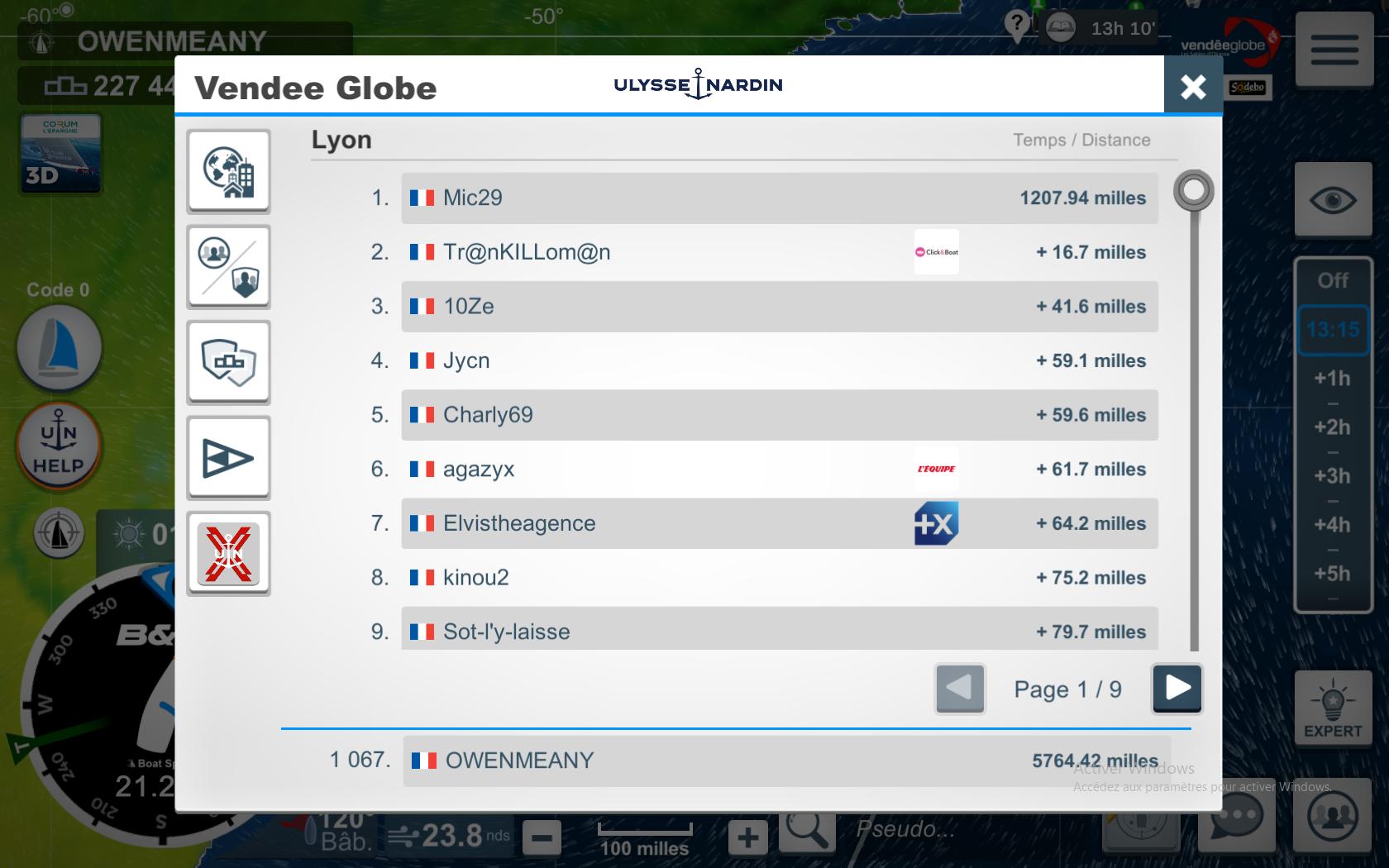 Vendée Globe virtuel: Virtual Regatta, édition 2020 - Page 2 Captu548