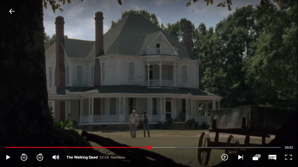 The Walking dead, storybording with Google Earth and Street View Captur42