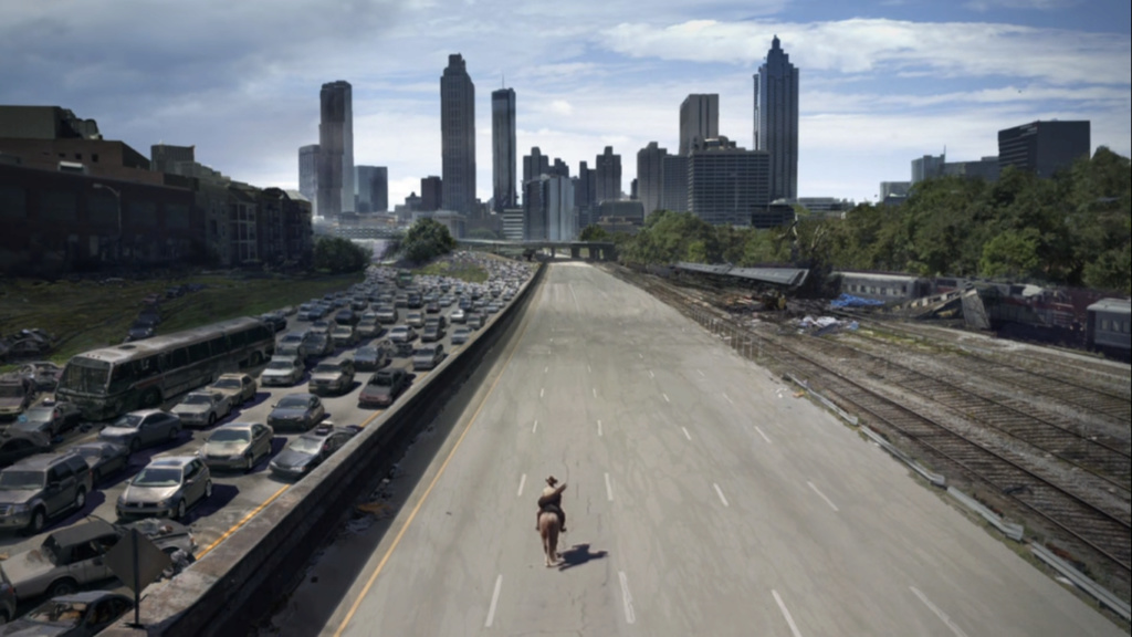 The Walking dead, storybording with Google Earth and Street View Captur49