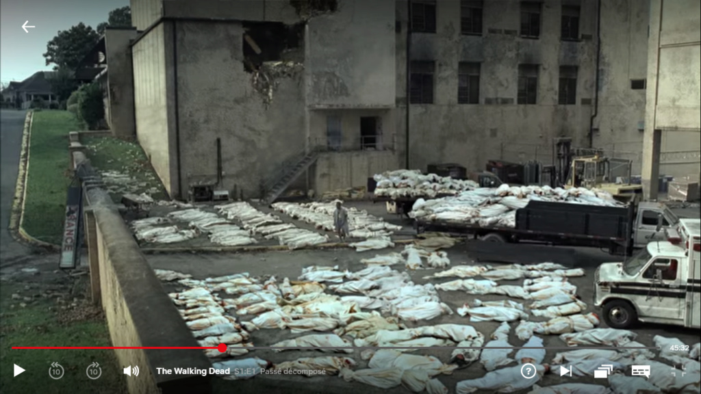 The Walking dead, storybording with Google Earth and Street View Captur50