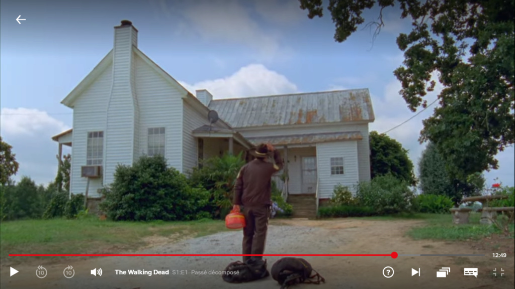 The Walking dead, storybording with Google Earth and Street View Captur56