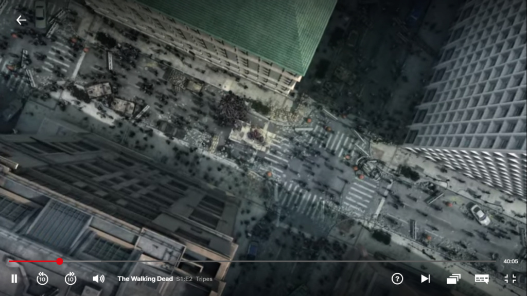 The Walking dead, storybording with Google Earth and Street View Captur59
