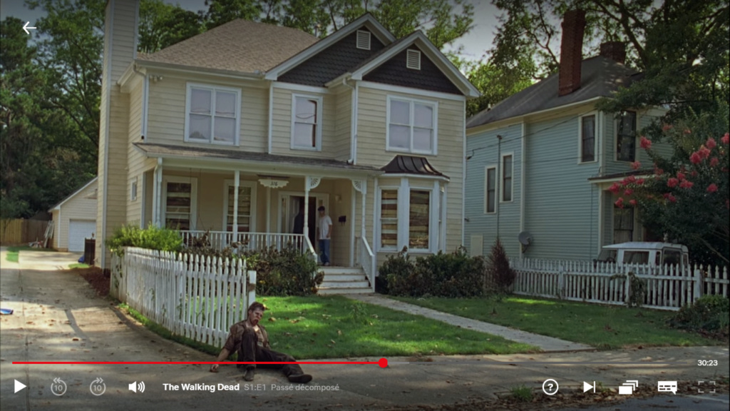 The Walking dead, storybording with Google Earth and Street View Captur64