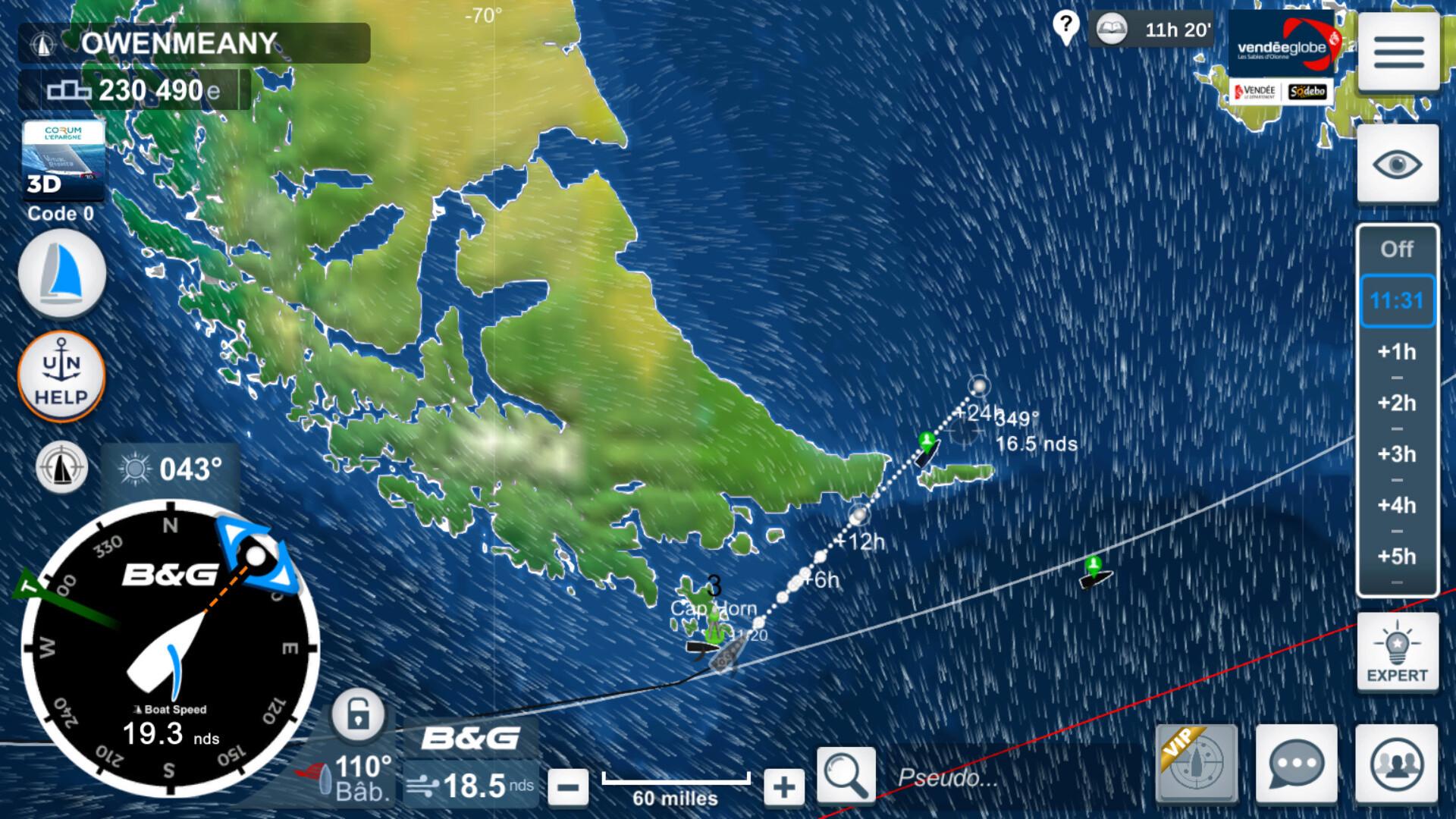 Vendée Globe virtuel: Virtual Regatta, édition 2020 - Page 2 Captur67