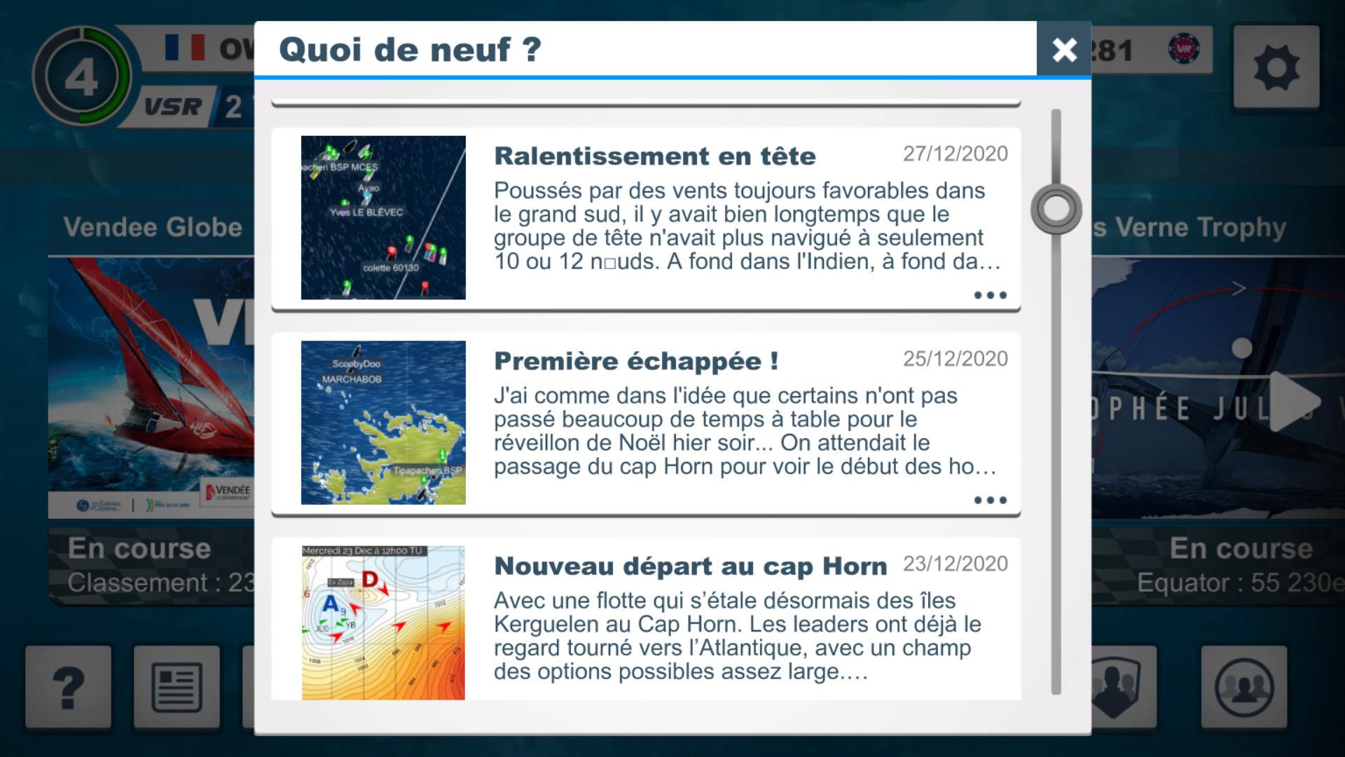 Vendée Globe virtuel: Virtual Regatta, édition 2020 - Page 2 Captur70