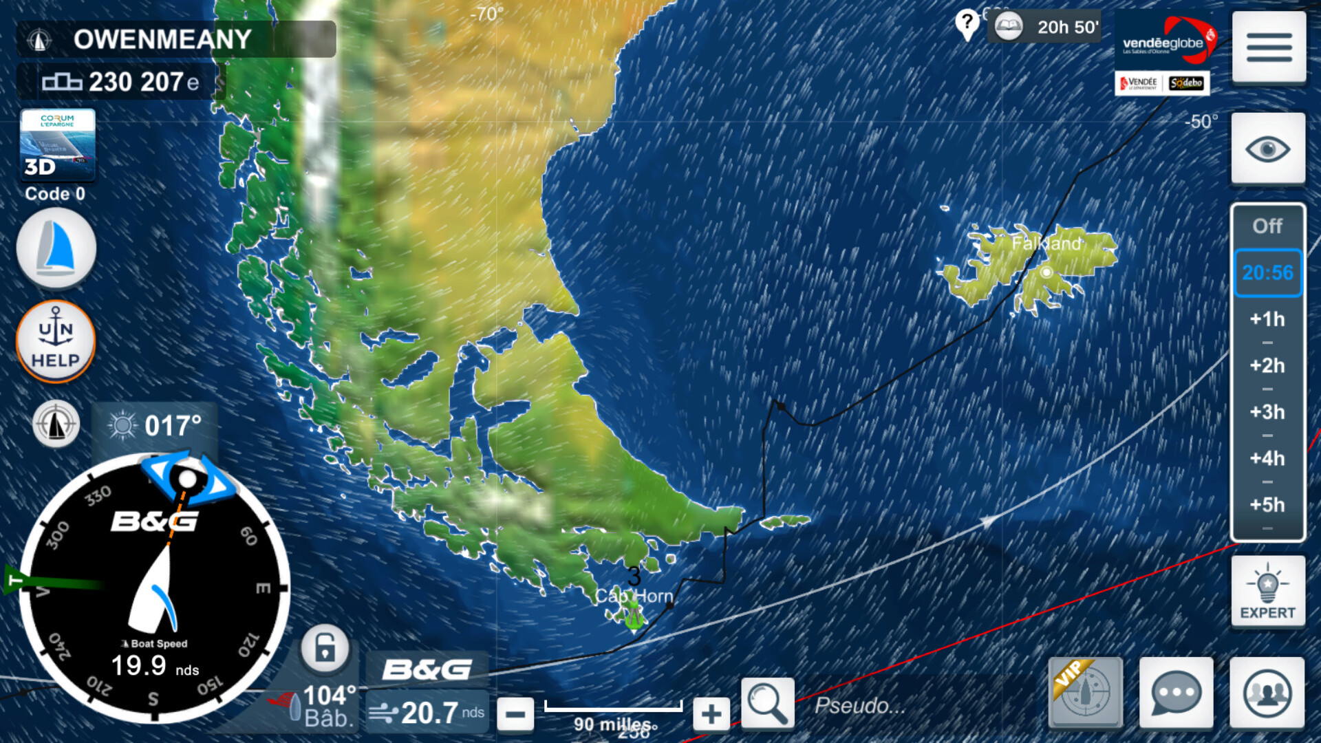 Vendée Globe virtuel: Virtual Regatta, édition 2020 - Page 2 Captur72