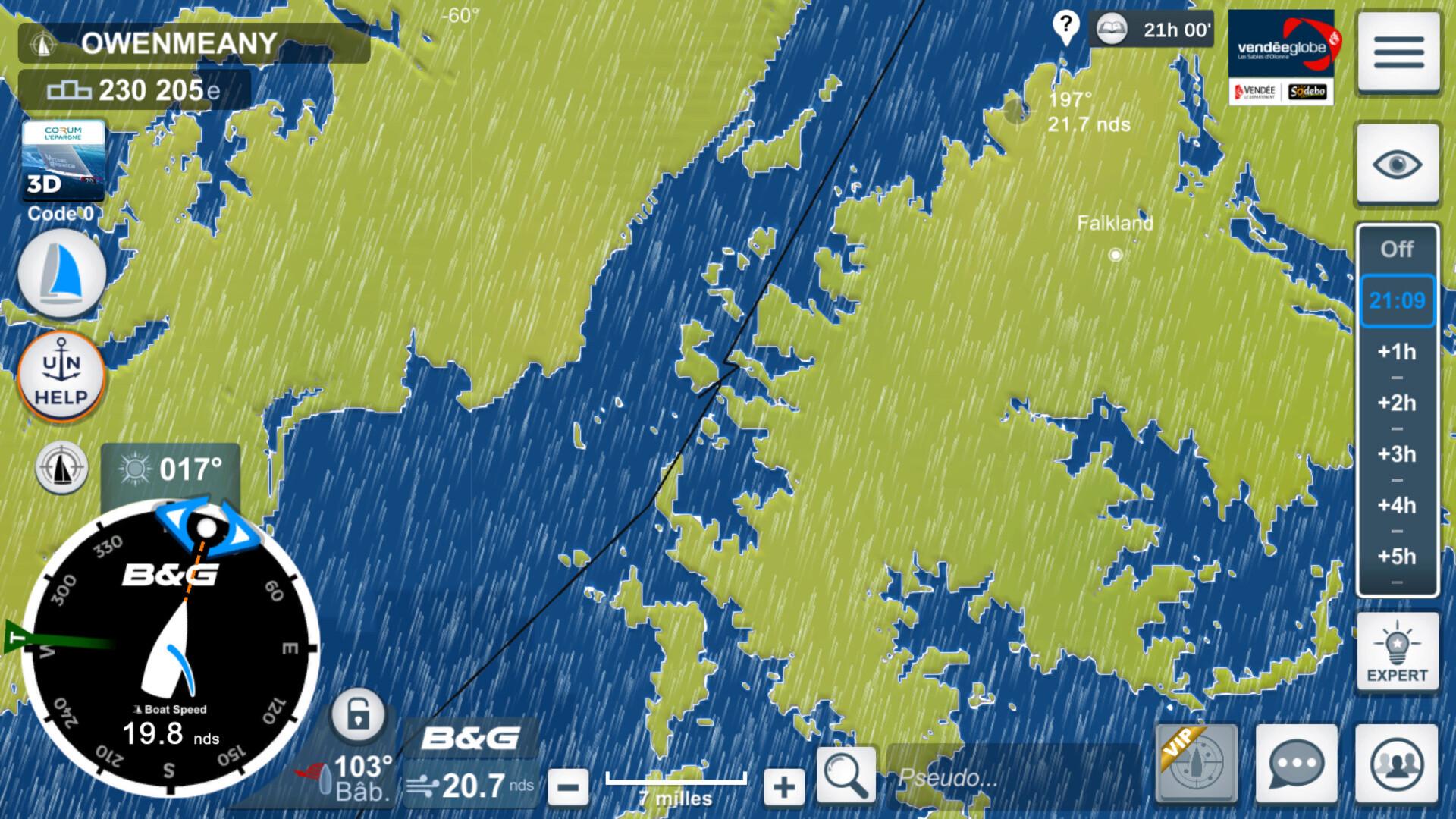 Vendée Globe virtuel: Virtual Regatta, édition 2020 - Page 2 Captur73