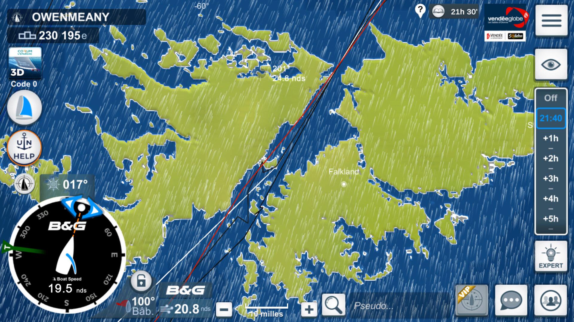 Vendée Globe virtuel: Virtual Regatta, édition 2020 - Page 2 Captur74