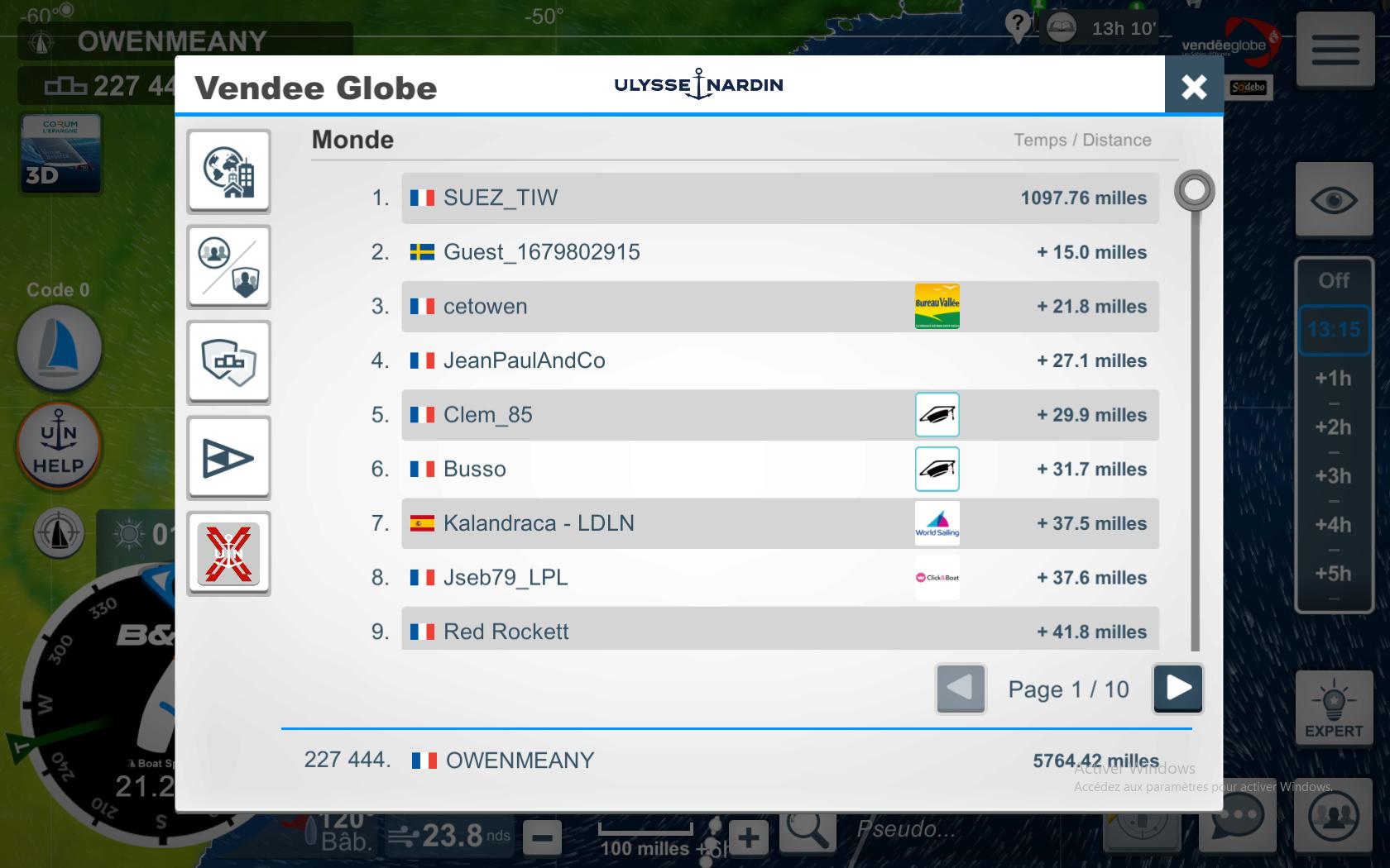 Vendée Globe virtuel: Virtual Regatta, édition 2020 - Page 2 Captur75