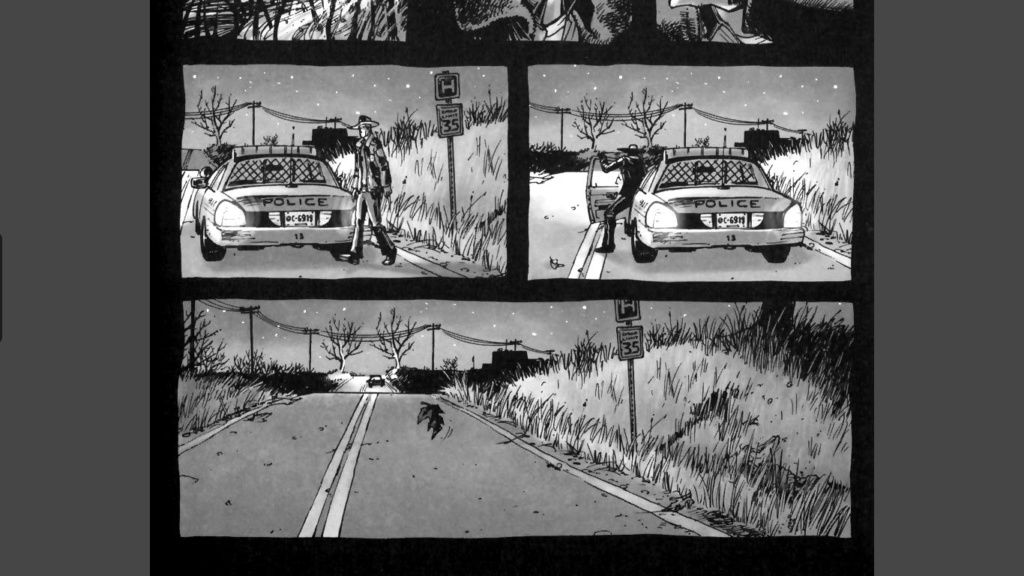 The Walking dead, storybording with Google Earth and Street View Captur87