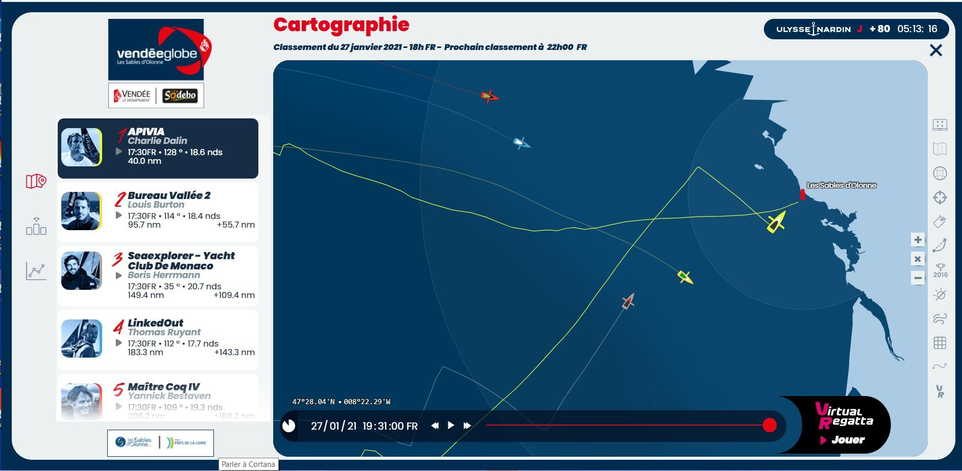 Vendée Globe virtuel: Virtual Regatta, édition 2020 - Page 2 Captur89
