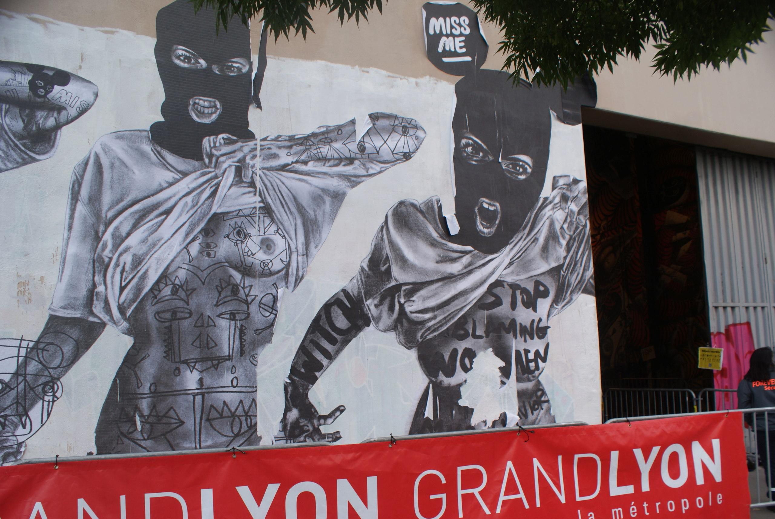 [street art-rue et manifs] Peinture fraîche, à Lyon 2019 et 2020 - Page 3 Dsc05016