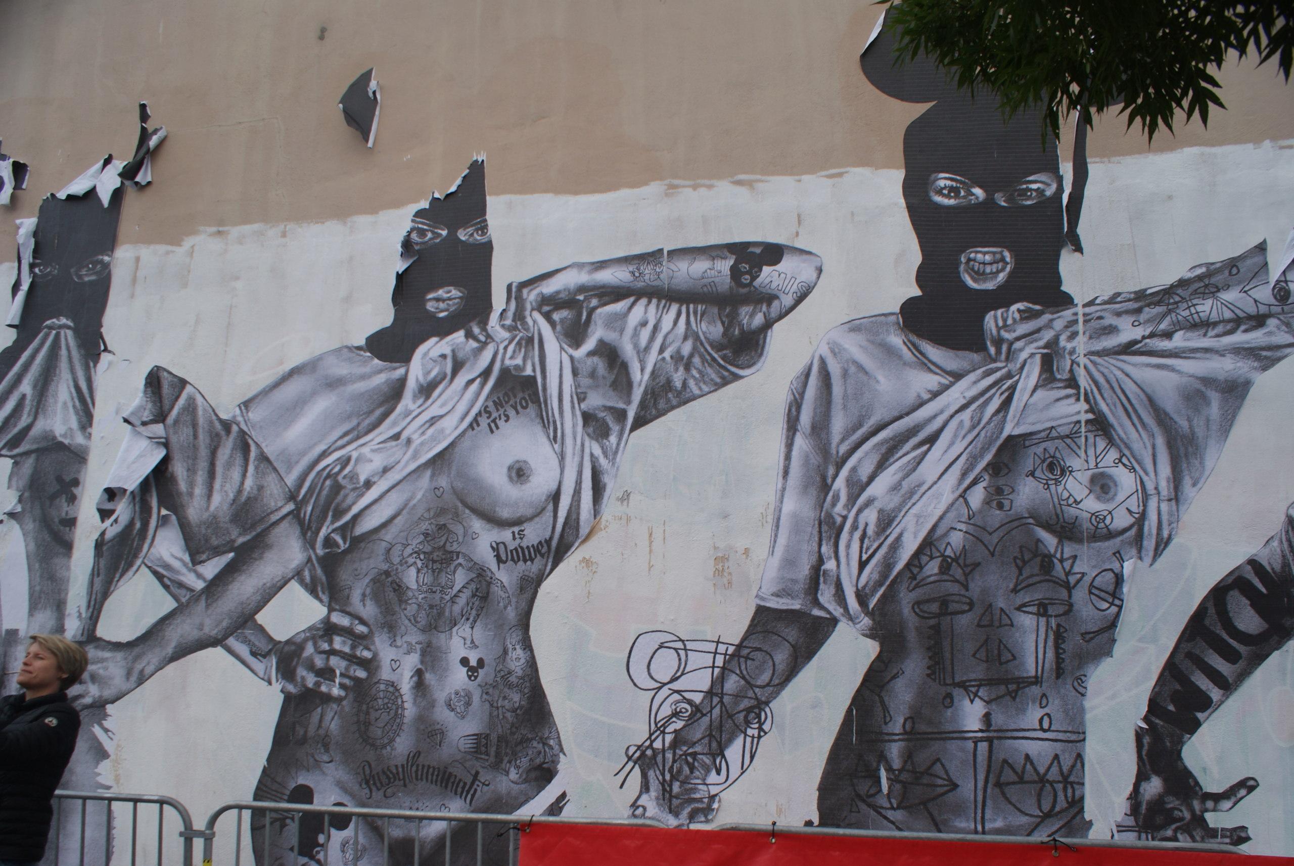 [street art-rue et manifs] Peinture fraîche, à Lyon 2019 et 2020 - Page 3 Dsc05017