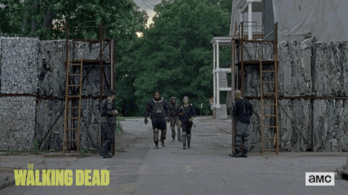 The Walking dead, storybording with Google Earth and Street View - Page 2 Giphy11