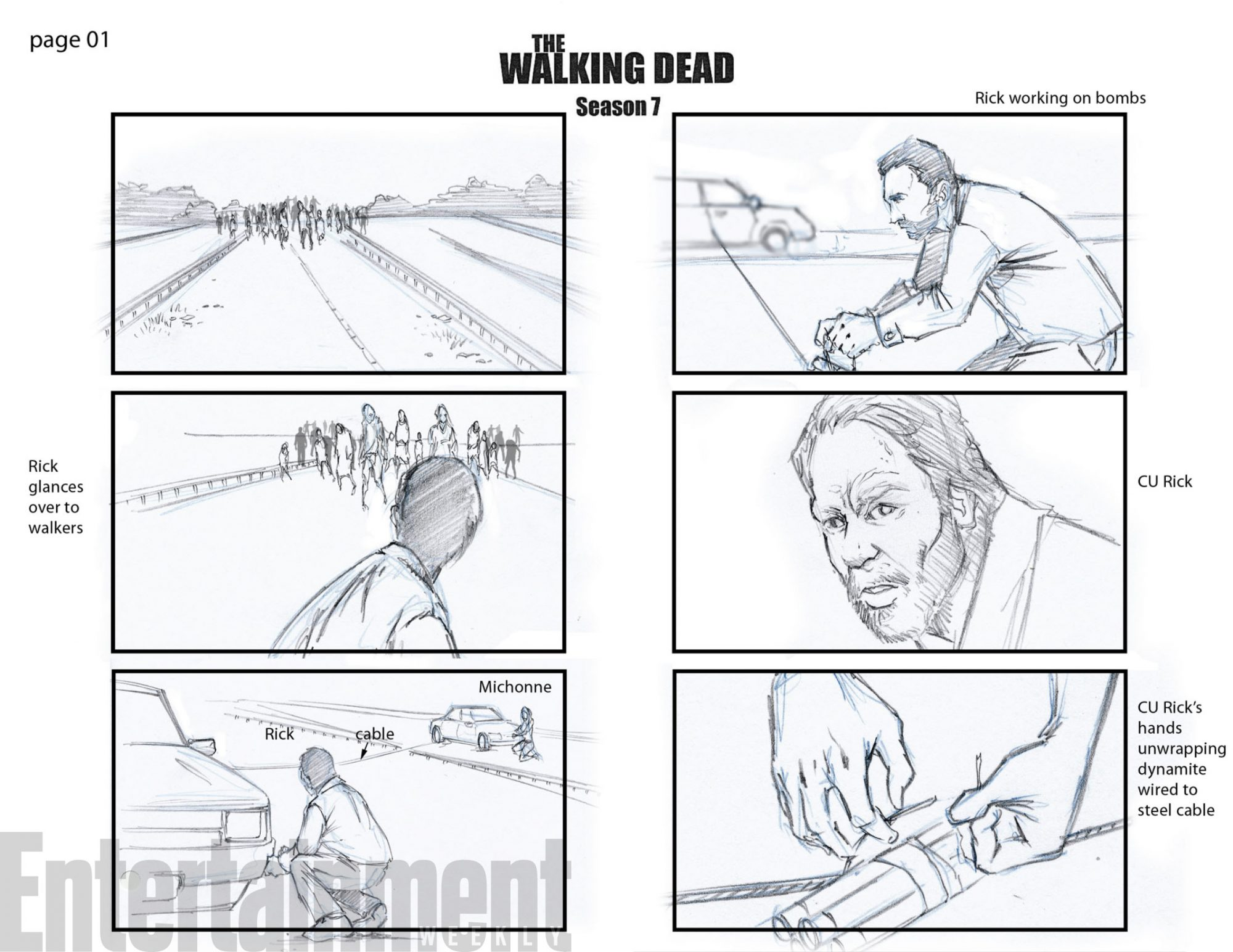 The Walking dead, storybording with Google Earth and Street View - Page 7 Image10