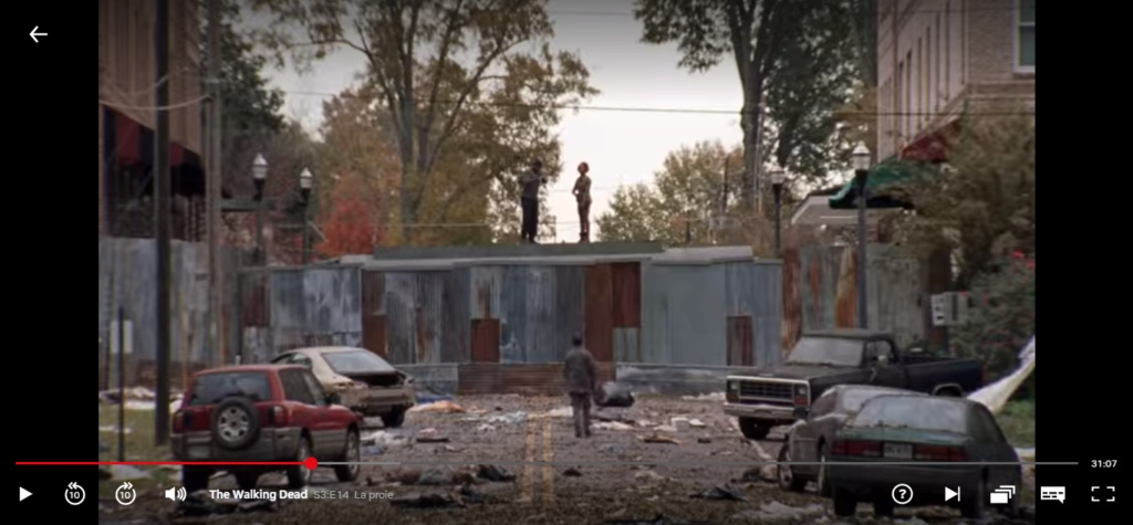 The Walking dead, storybording with Google Earth and Street View Q45