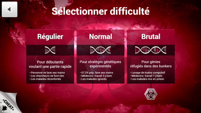Plague Inc...une simulation de coronavirus. Screen14