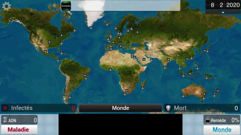 Plague Inc...une simulation de coronavirus. Screen16